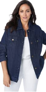 Classic Cotton Denim Jacket