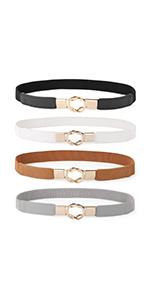 women stretch belt