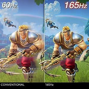 165hz gaming monitor