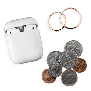 Perfect for keeping coins, headphones, or small jewelry organized