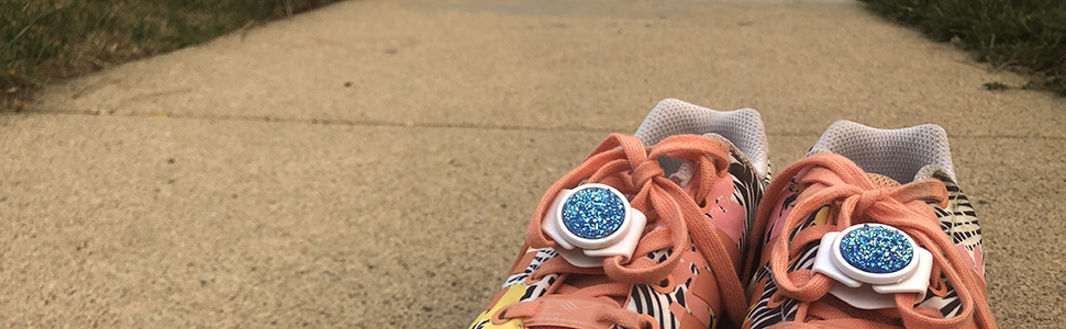 Knotbots shoelace lock keeps shoes tied