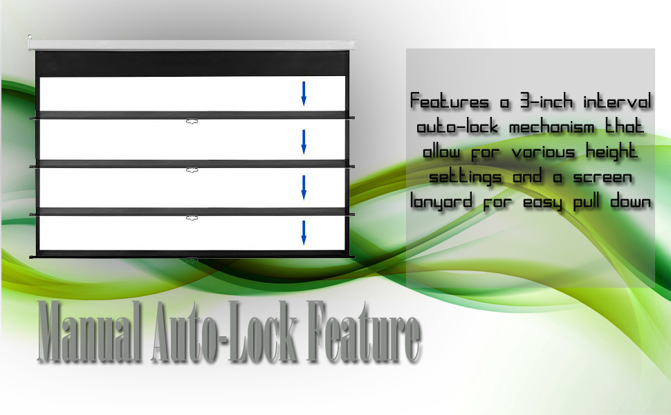 Manual Auto Lock features