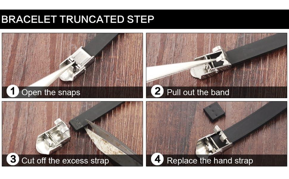 How to shorten the bracelet?