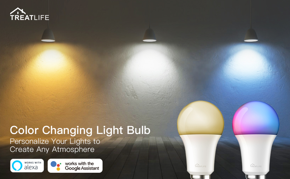 color changing light bulb