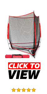 Three Way Hitting Net Baseball Bundle is greato to warm-up your team right before game time.