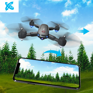 Flashandfocus.com cd4a0c33-9bfc-4e3c-9b16-9439bfc0b2c1.__CR0,0,300,300_PT0_SX300_V1___ GPS Drone with 4K Camera for Adults, Dual Camera 5G WiFi FPV Live Video Foldable Drone 30mins Flight Time,120°Wide-Angle…