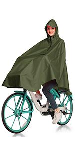 cycling rain cape