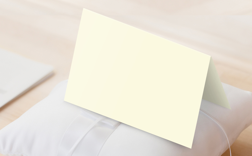 White or Cream Embossed Cards  Set of 12  Card Stock  A2 Envelopes  Craft Supplies