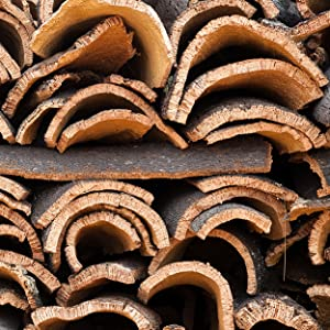 raw cork material
