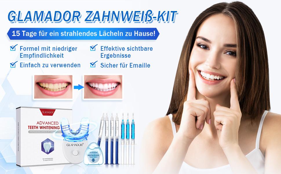 Zahnweiss-Kit