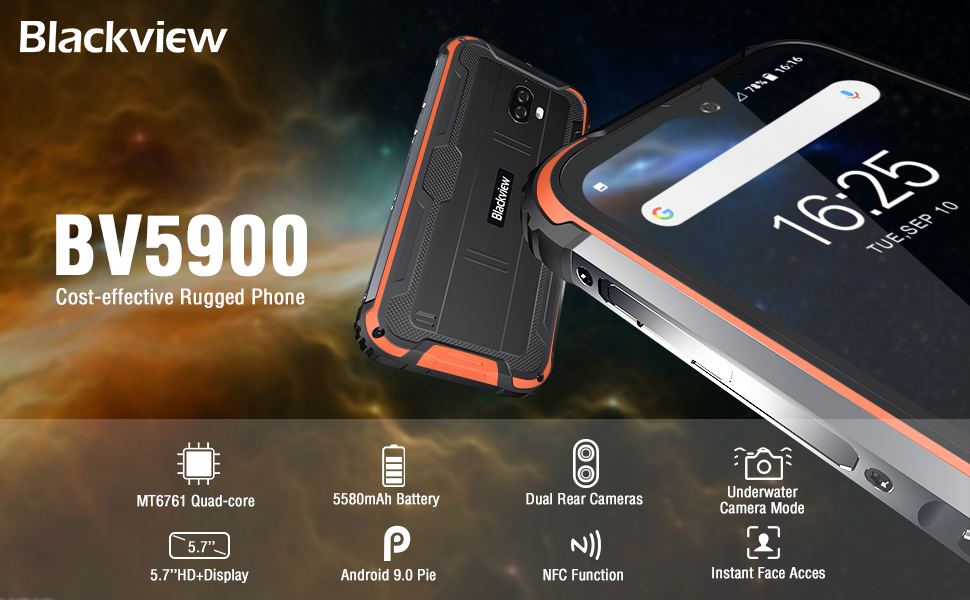 BV5900 Rugged Smartphone