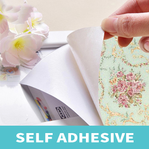 damask floral pink rustic wallpapers are self-adhesive, peel and stick
