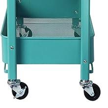 Folding rolling cart