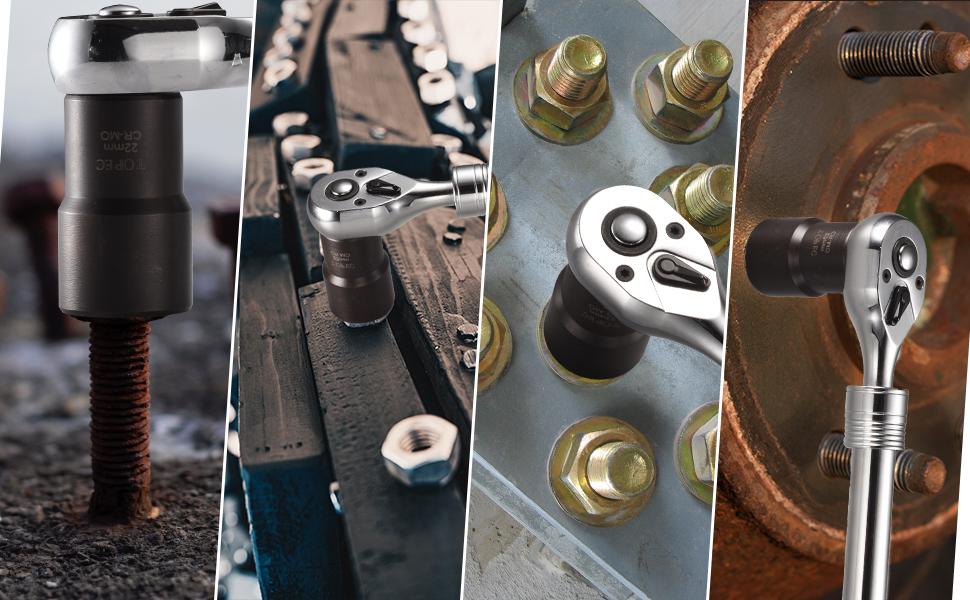 Drehsteckschlüssel Set Radmutter Entferner Werkzeug 5 Teiliges Metrisches Werkzeug Für Bolzen Und Radmuttern Baumarkt