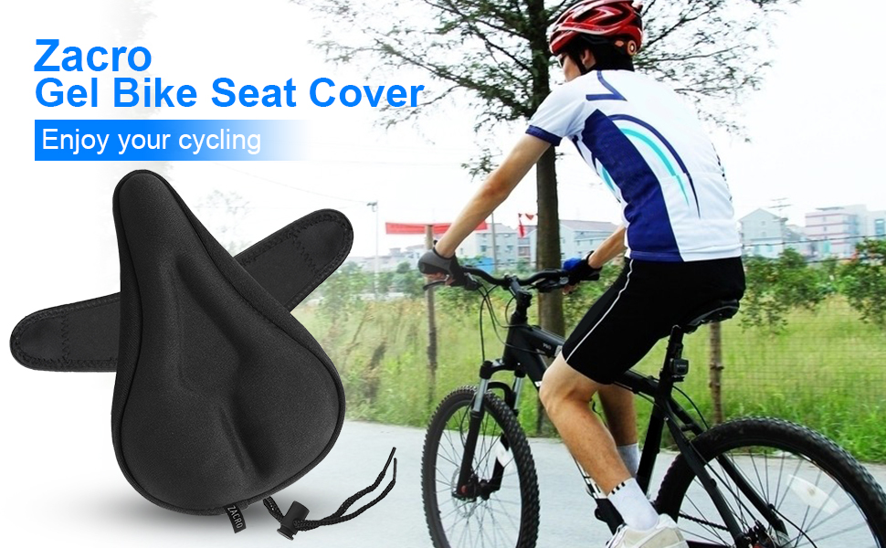 Saddle cover bike saddle cover rixow gel waterproof cover cycling saddle