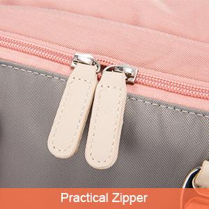 Smooth zipper
