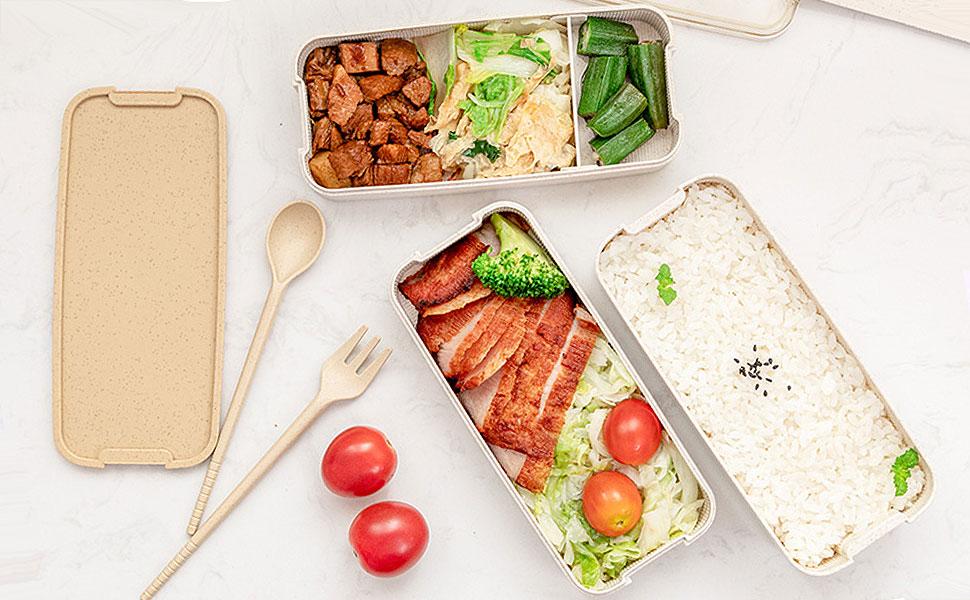VanEnjoy Unbreakable Bento Lunch Box