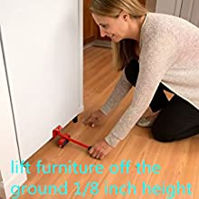 lift the furniture off the ground 1/8