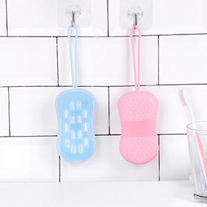 Silicone Body Scrubbers Brush