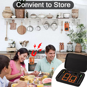 Meat thermometer digital meat thermmeter for grilling wireless meat thermometer bbq