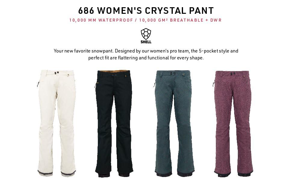 686 Womens Crystal Pant