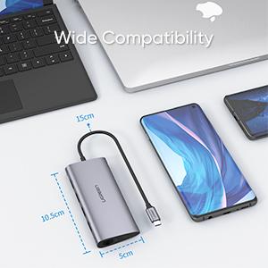8 in 1 Multifunctional USB-C DOCK