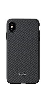 premium selection 86a7f e81e5 Amazon.com: Evutec Unique Heavy Duty Case compatible iPhone Xs Max ...