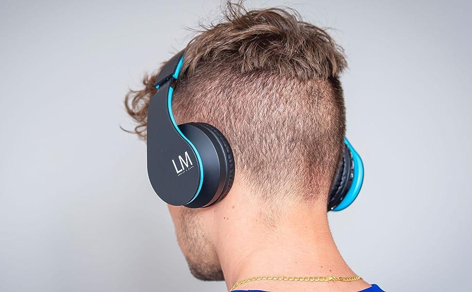 Louise Mann Bluetooth Headphones Over Ear Wireless Elektronik