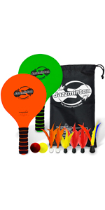 Paddle ball toy for kids and adults outdoor game for beach park backyard yard toy