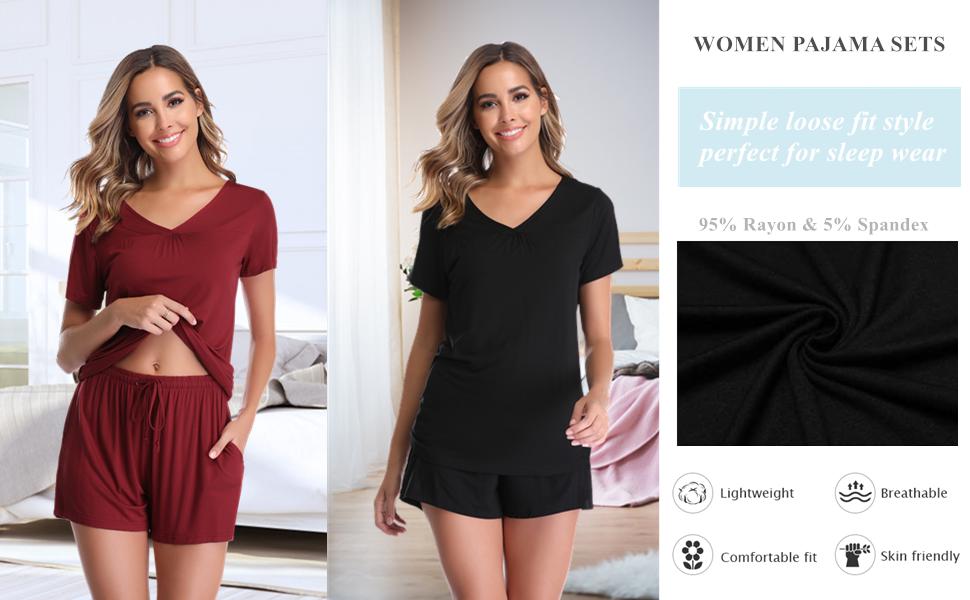 Vlazom Women's Pajama Sets