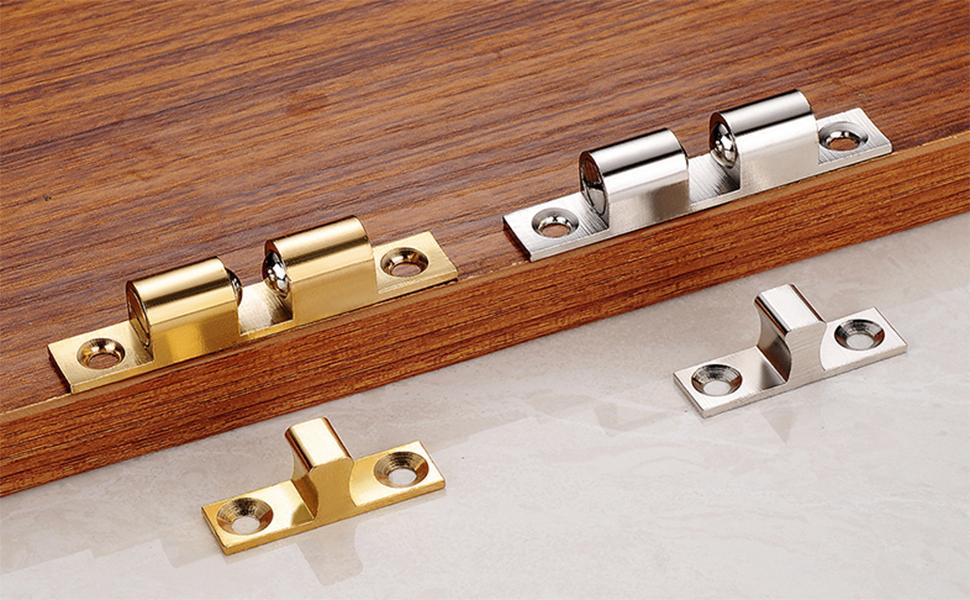 Cupboard door touching bead