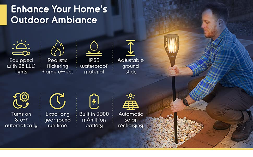 enhance your home's outdoor ambiance