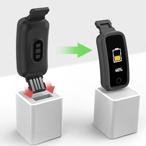USB Charging & Long Standby Time