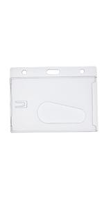 Horizontal Hard Plastic ID Protector