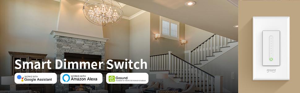 smart dimmer switch, smart switch dimmer, gosund smart dimmer switch, gosund smart switch