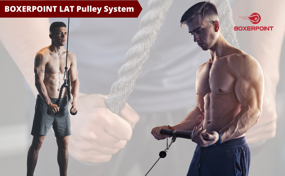 LAT Pulley System for hym and home