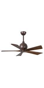 bronze fan, 5 blades