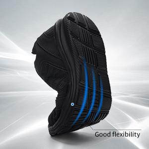 good flexibility soft work shoes