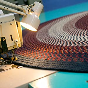 hand braided rug