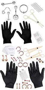 body piercing kit tool