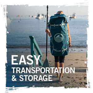 easy transportation and storage