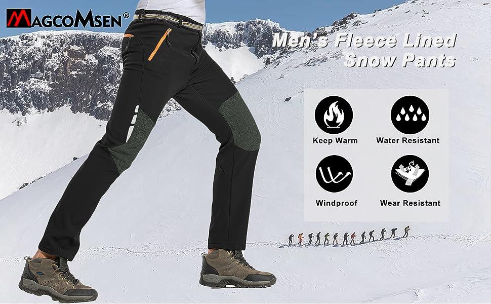 snow pants men