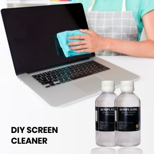 DIY Screen Cleaners