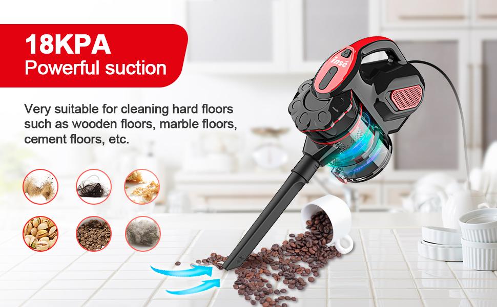 handheld vacuum cleaner corded 18000Pa