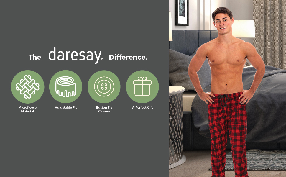 the daresay difference super soft material adjustable fit button fly closure and a perfect gift
