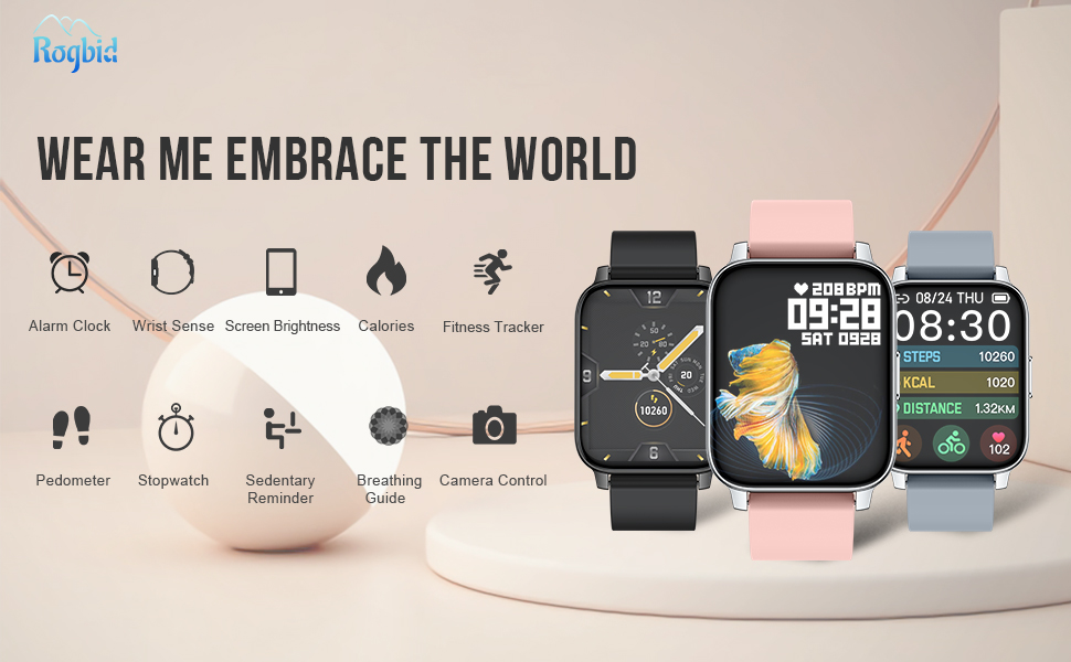 Rogbid Smartwatch Rowatch 2 A