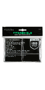 Amazon.com: TitanShield (150 Sleeves / Clear) Standard Size ...