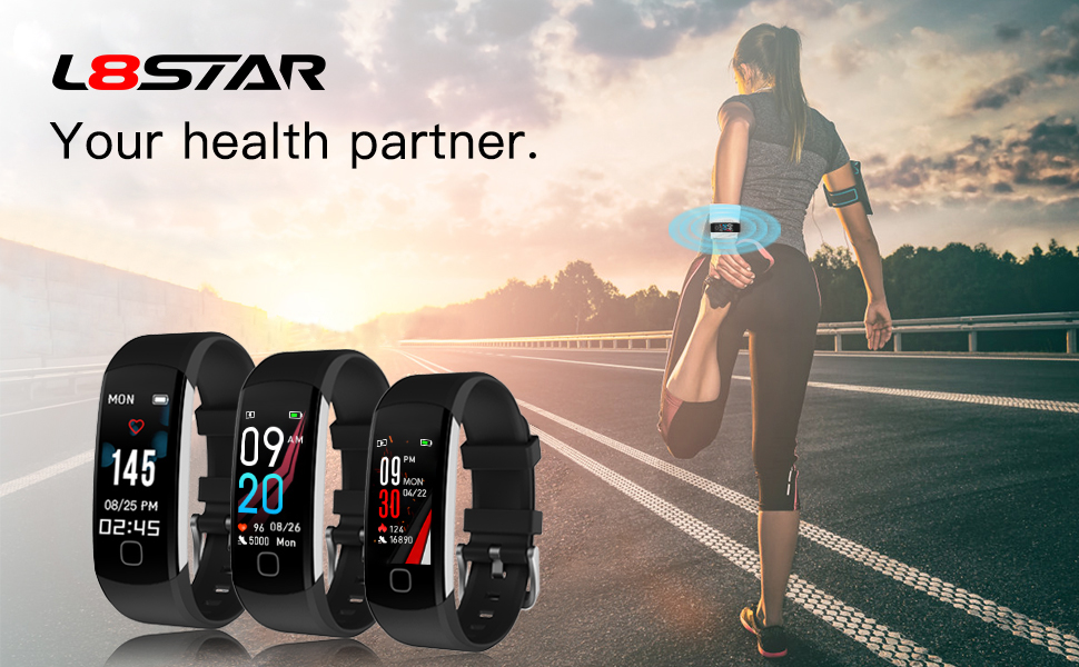 Fitness Tracker smart bracelet smart wristband smart watch heart rate monitor