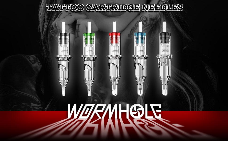 Wormhole Tattoo Needle Cartridges 20PCS