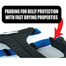 Soft padding for dog belly